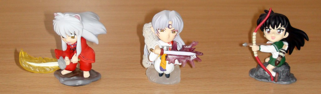 Figurines Inu-Yasha